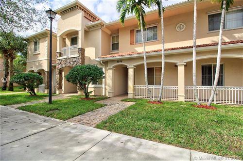 Photo of 2548 SW 83rd Ave #103, Miramar, FL 33025 (MLS # A10984167)