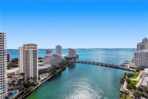 Photo of 495 Brickell Ave #2302, Miami, FL 33131 (MLS # A11114169)