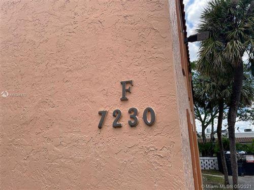 Photo of 7230 Fairway Dr #F6, Miami Lakes, FL 33014 (MLS # A11044170)