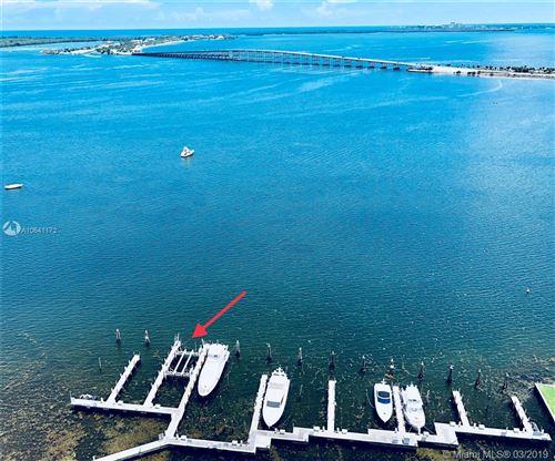 Photo of 1643 BRICKELL AV MARINA #12, Miami, FL 33129 (MLS # A10641172)