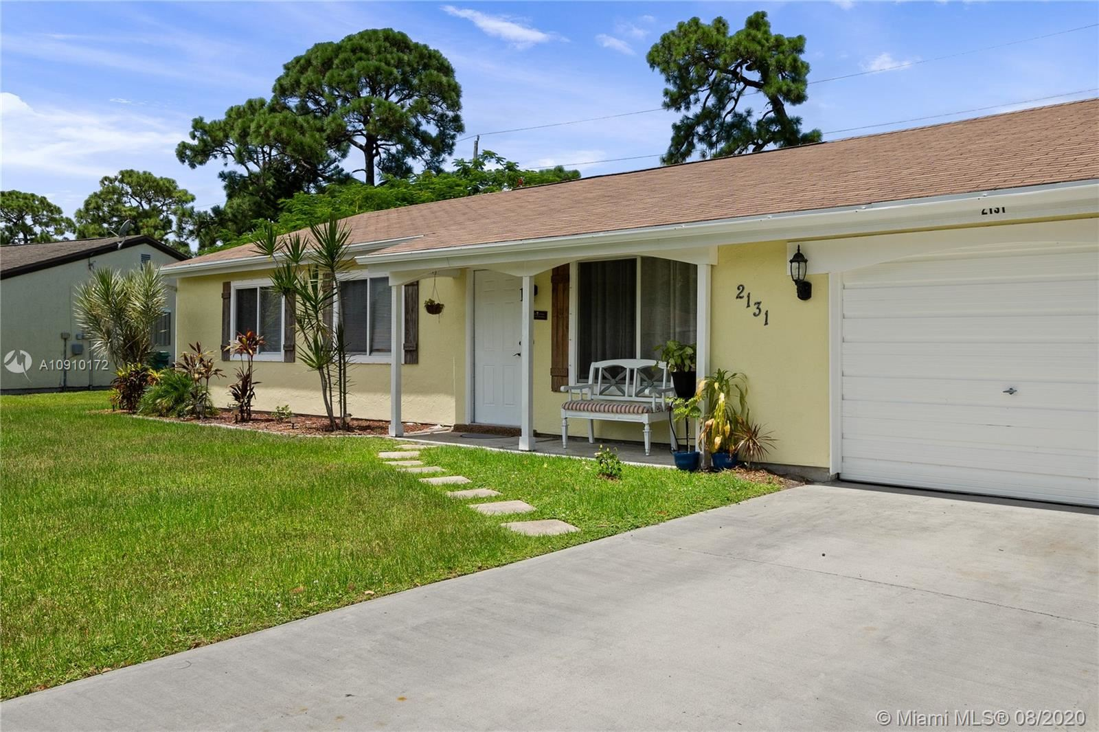2131 SE Flagstone Ct, Port Saint Lucie, FL 34952 - #: A10910172