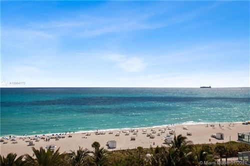 Photo of 3801 Collins Ave #901, Miami Beach, FL 33140 (MLS # A10984173)