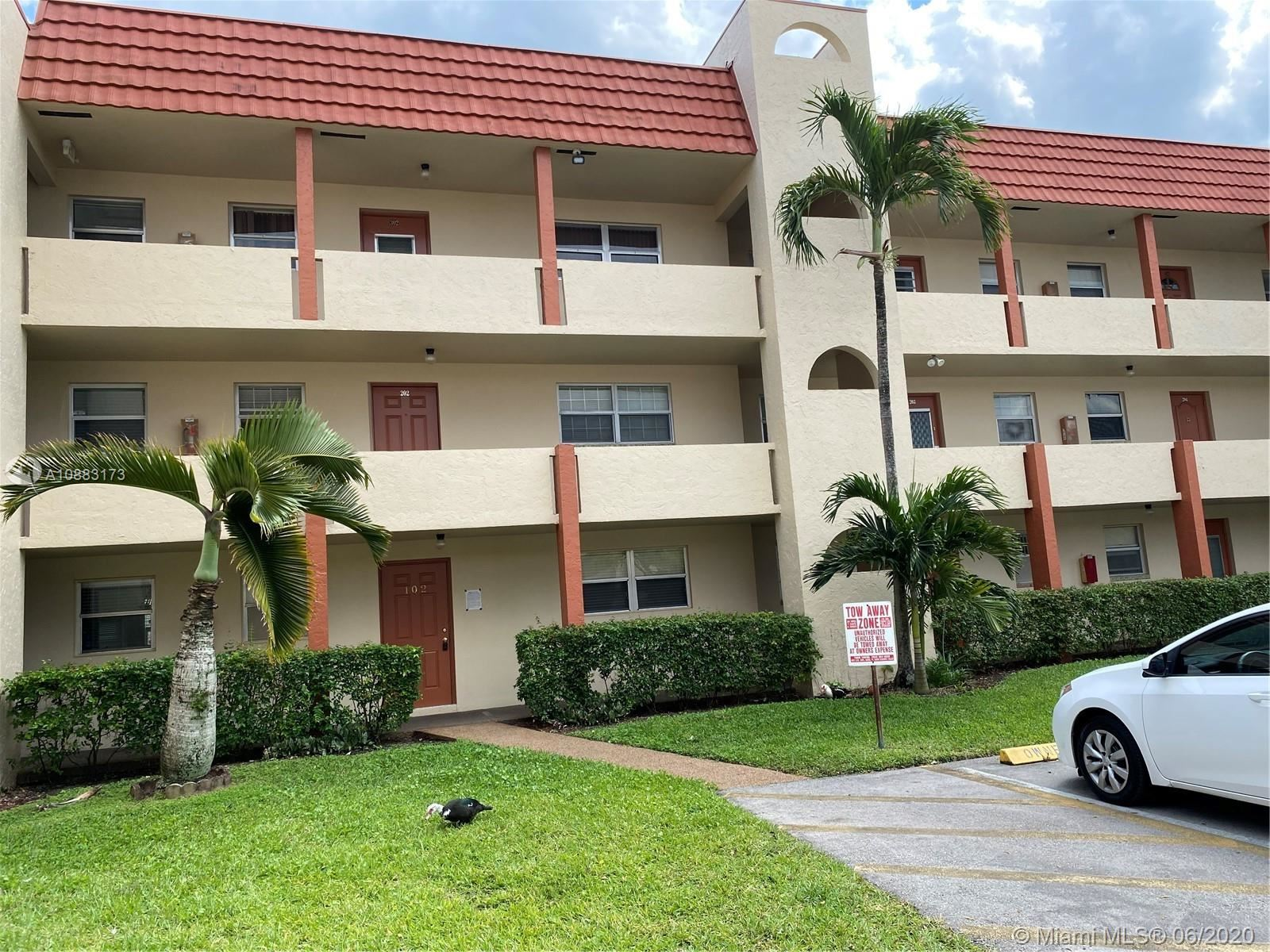 2900 W Sunrise Lakes Dr #102, Sunrise, FL 33322 - #: A10883173
