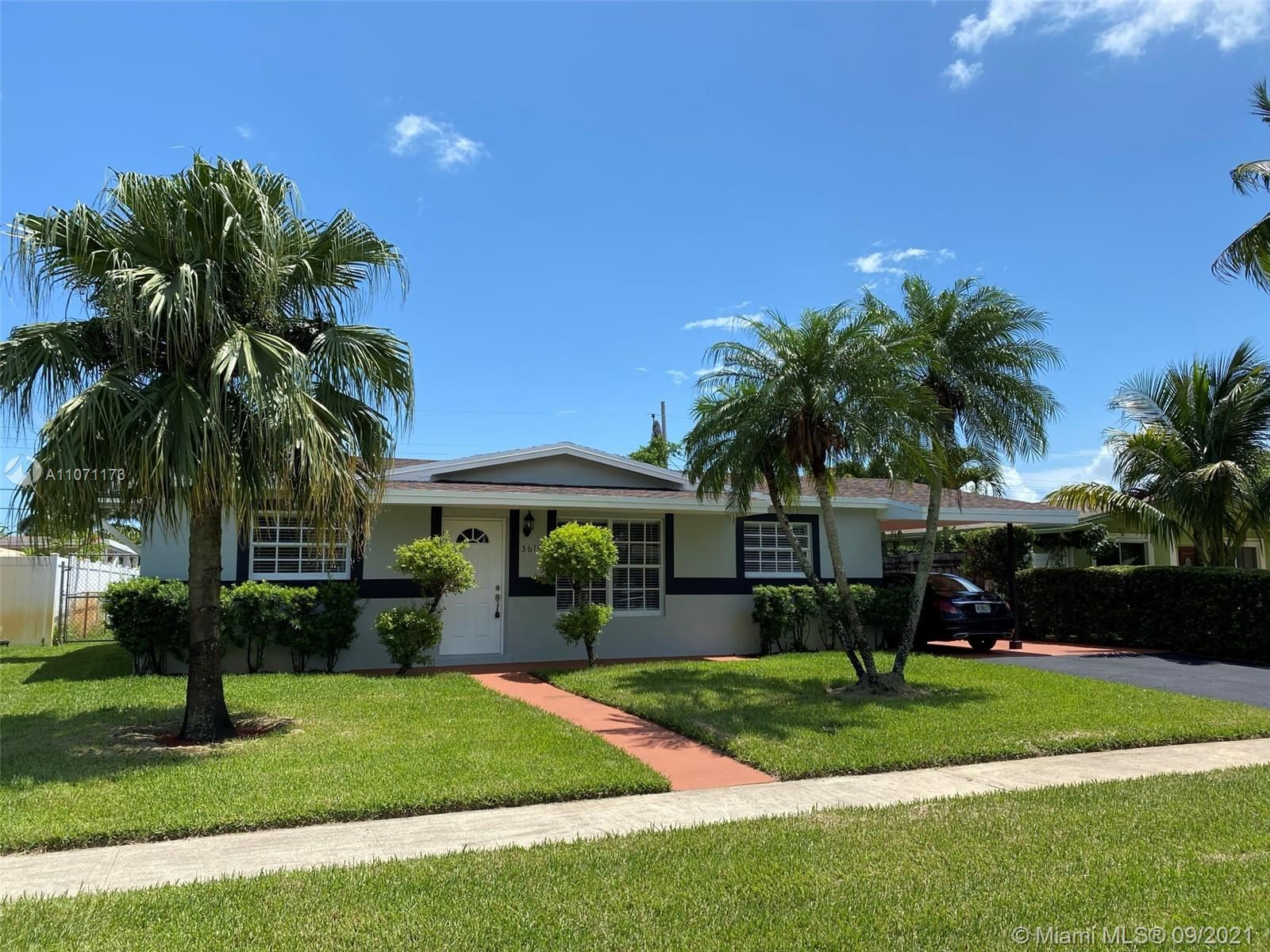 Photo of 3610 NW 41st St, Lauderdale Lakes, FL 33309 (MLS # A11071173)