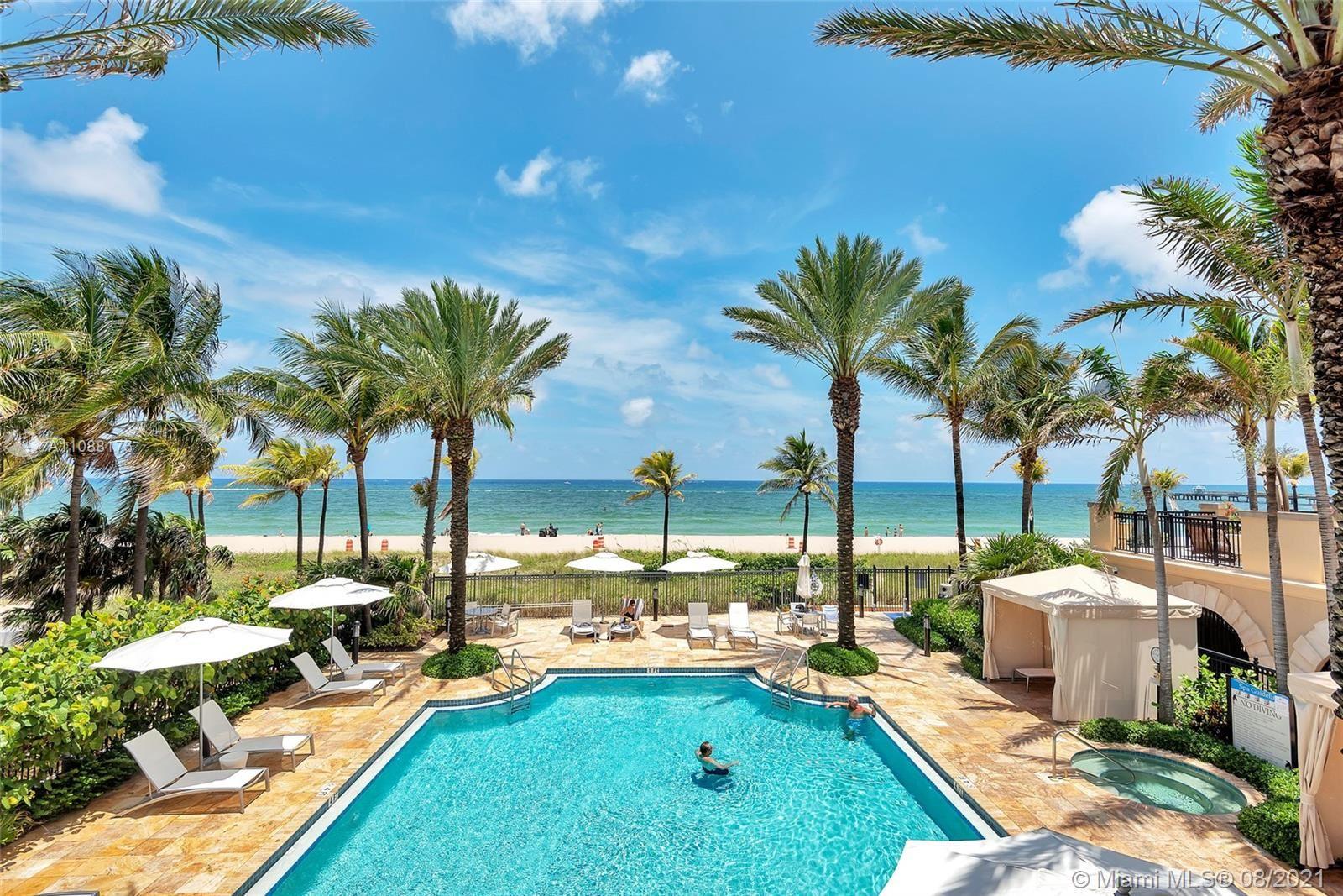 Photo of 4511 El Mar Dr #PH 401, Lauderdale By The Sea, FL 33308 (MLS # A11088173)