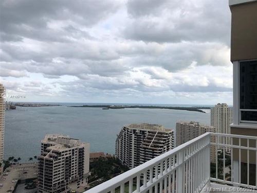 Photo of 801 Brickell Key Blvd #3312, Miami, FL 33131 (MLS # A11057174)