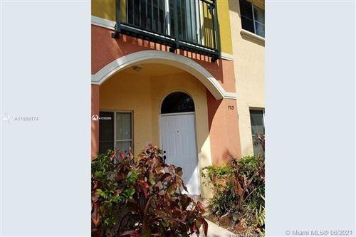 Photo of 703 N Santa Catalina Cir #703, North Lauderdale, FL 33068 (MLS # A11059174)