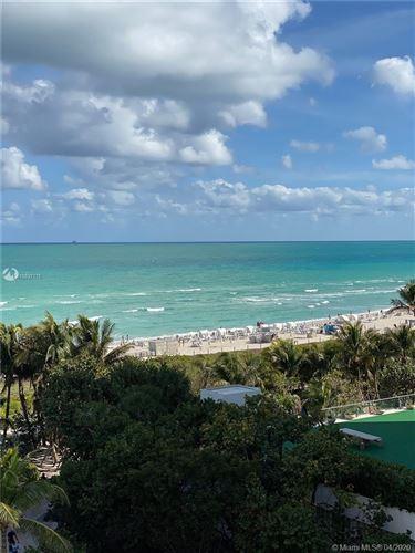 Foto de inmueble con direccion 2401 Collins Ave #903 Miami Beach FL 33140 con MLS A10837175
