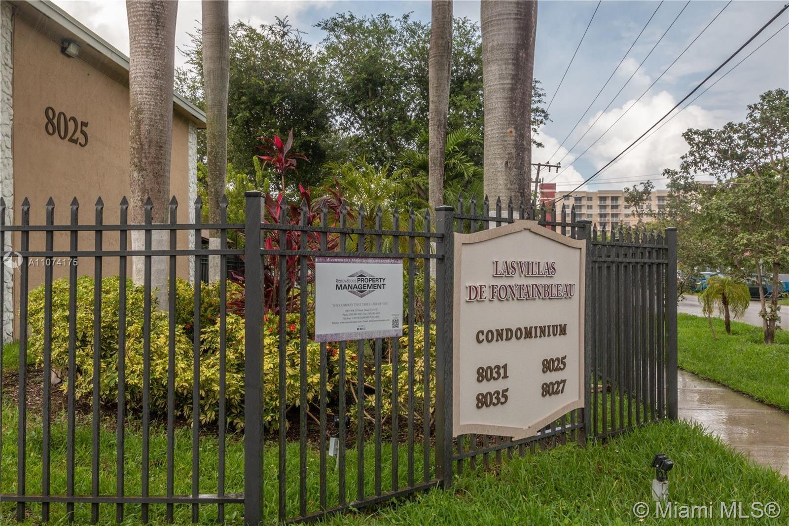 8025 NW 8th St #14, Miami, FL 33126 - #: A11074175