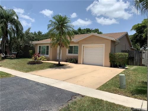 Photo of Listing MLS a10885176 in 9365 NW 53rd Ct Sunrise FL 33351