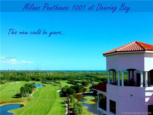 Photo of 13621 DEERING BAY #PH 1001, Coral Gables, FL 33158 (MLS # A10784177)