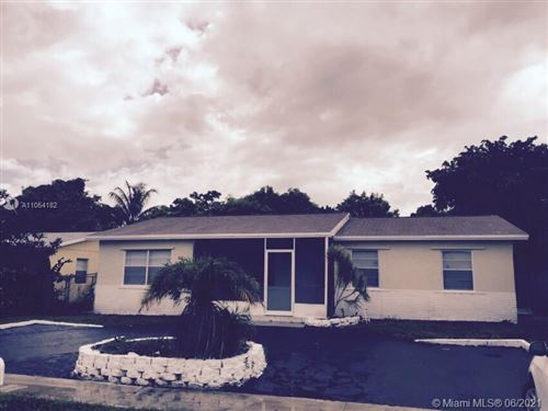 Photo of 308 SW 77th Ave, North Lauderdale, FL 33068 (MLS # A11054182)