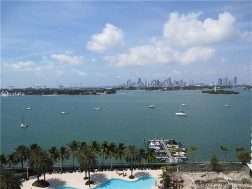 Photo of 1500 Bay Rd #1420S, Miami Beach, FL 33139 (MLS # A10854183)