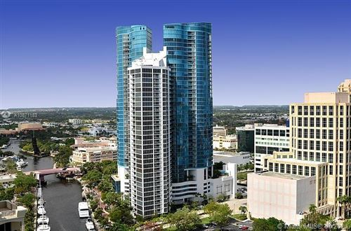 Photo of 333 Las Olas Way #2104, Fort Lauderdale, FL 33301 (MLS # A10871183)