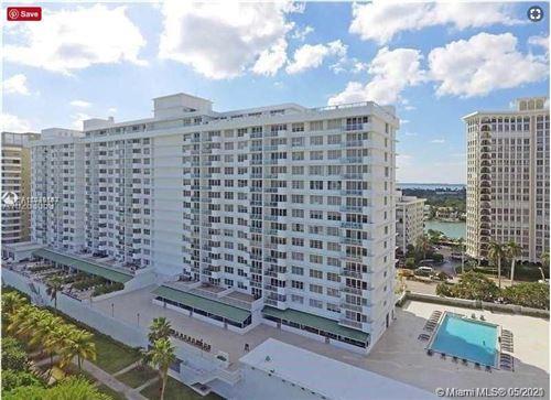 Photo of 5601 Collins Ave #809, Miami Beach, FL 33140 (MLS # A11039183)