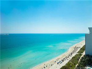 Photo of 6901 Collins Ave #1503N, Miami Beach, FL 33141 (MLS # A10286188)