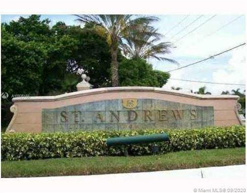 Photo of 12136 Saint Andrews Pl #309, Miramar, FL 33025 (MLS # A10925188)