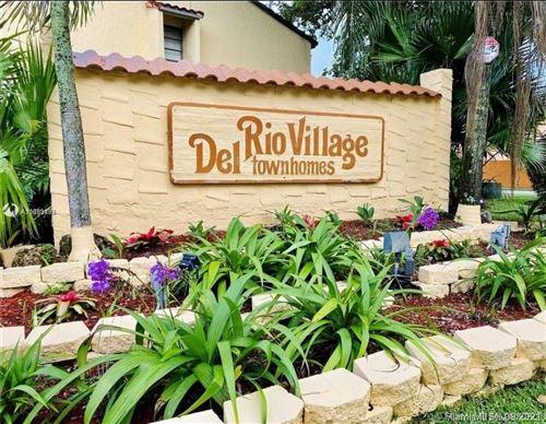 Photo of 4006 Del Rio Way #4006, Sunrise, FL 33351 (MLS # A11099188)