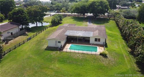 Photo of Listing MLS a10858189 in 5740 SW 130th Ave Southwest Ranches FL 33330