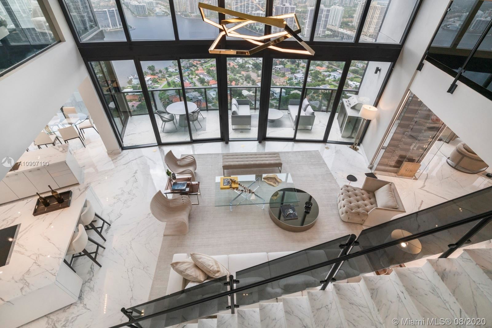 18555 Collins Ave #4204, Sunny Isles, FL 33160 - #: A10907190
