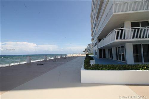 Photo of 3546 S Ocean Blvd #515, South Palm Beach, FL 33480 (MLS # A10964191)