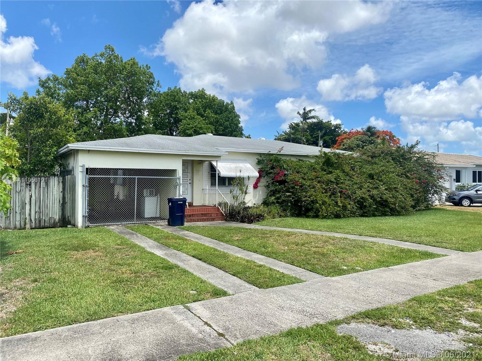 351 East Dr, Miami Springs, FL 33166 - #: A11058191