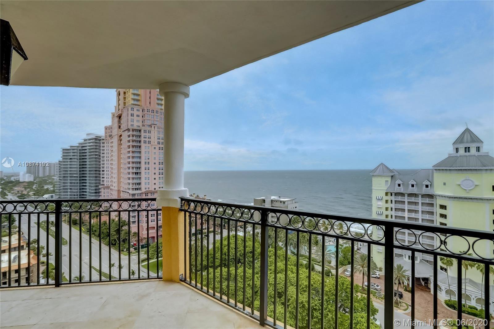 2001 N Ocean Blvd #1505, Fort Lauderdale, FL 33305 - #: A10874192