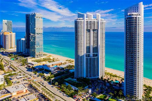 Photo of 18201 Collins Ave #1405, Sunny Isles Beach, FL 33160 (MLS # A10981193)