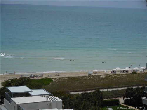 Foto de inmueble con direccion 9511 Collins Ave #1209 Surfside FL 33154 con MLS A10778196