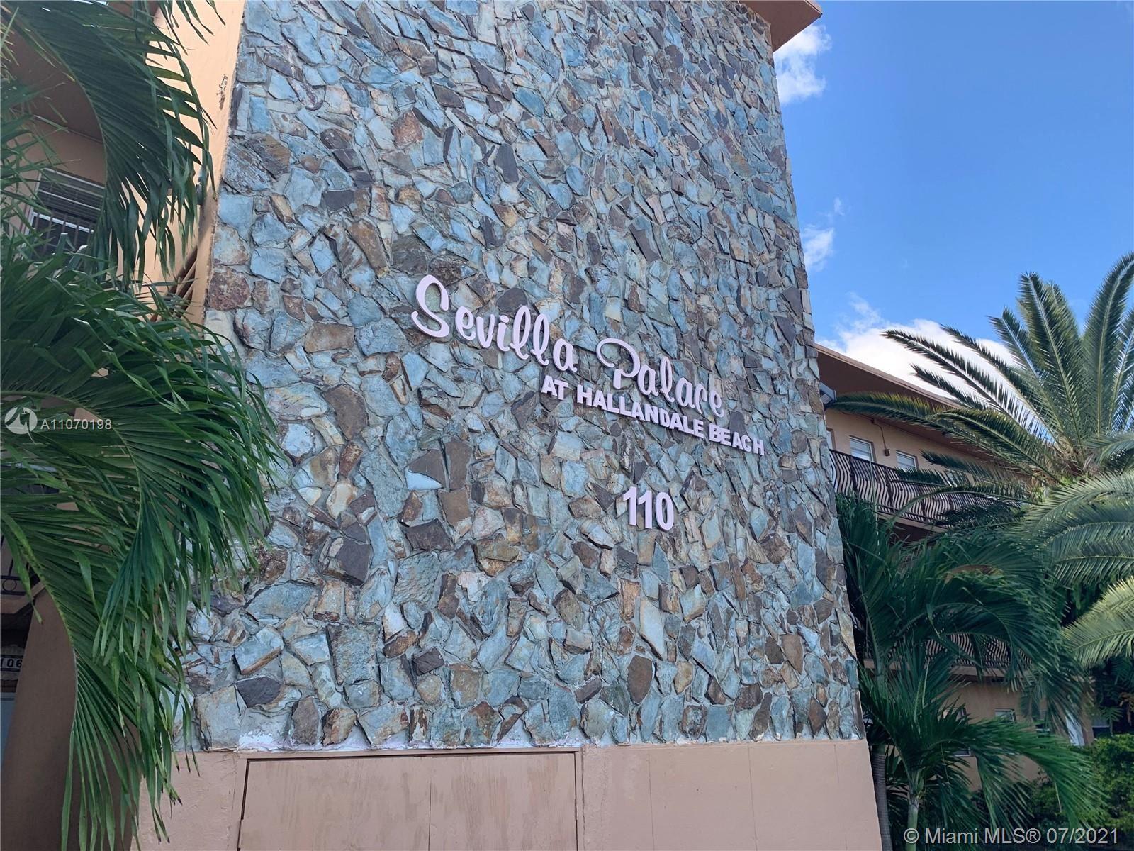 110 SE 2nd St #308, Hallandale Beach, FL 33009 - #: A11070198