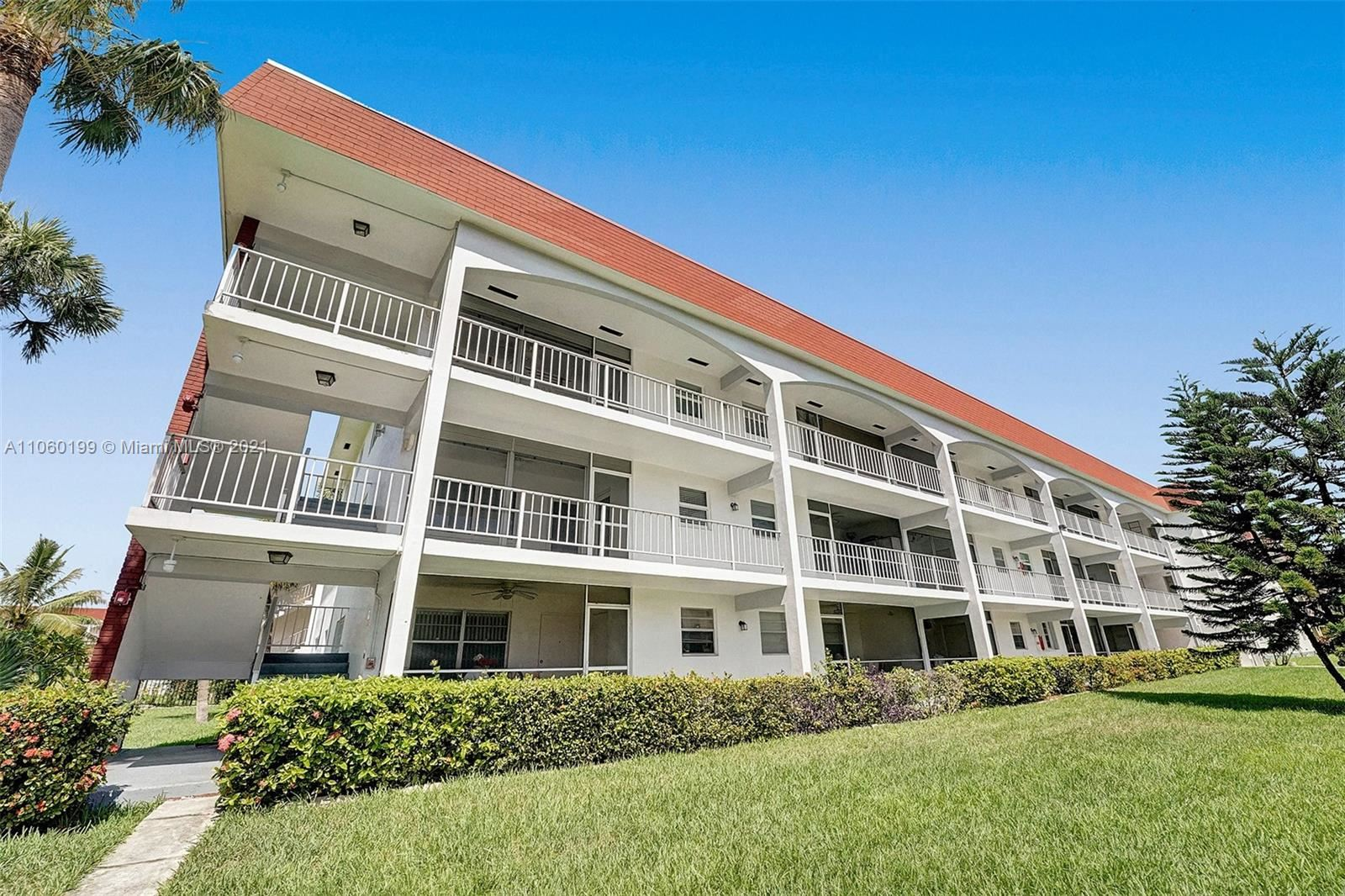 Photo of 541 Blue Heron Dr #109, Hallandale Beach, FL 33009 (MLS # A11060199)