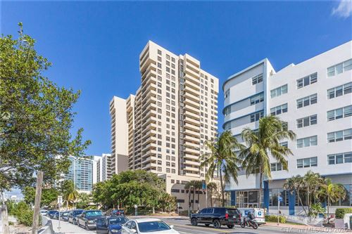 Photo of 2555 Collins Ave #1004, Miami Beach, FL 33140 (MLS # A10840201)
