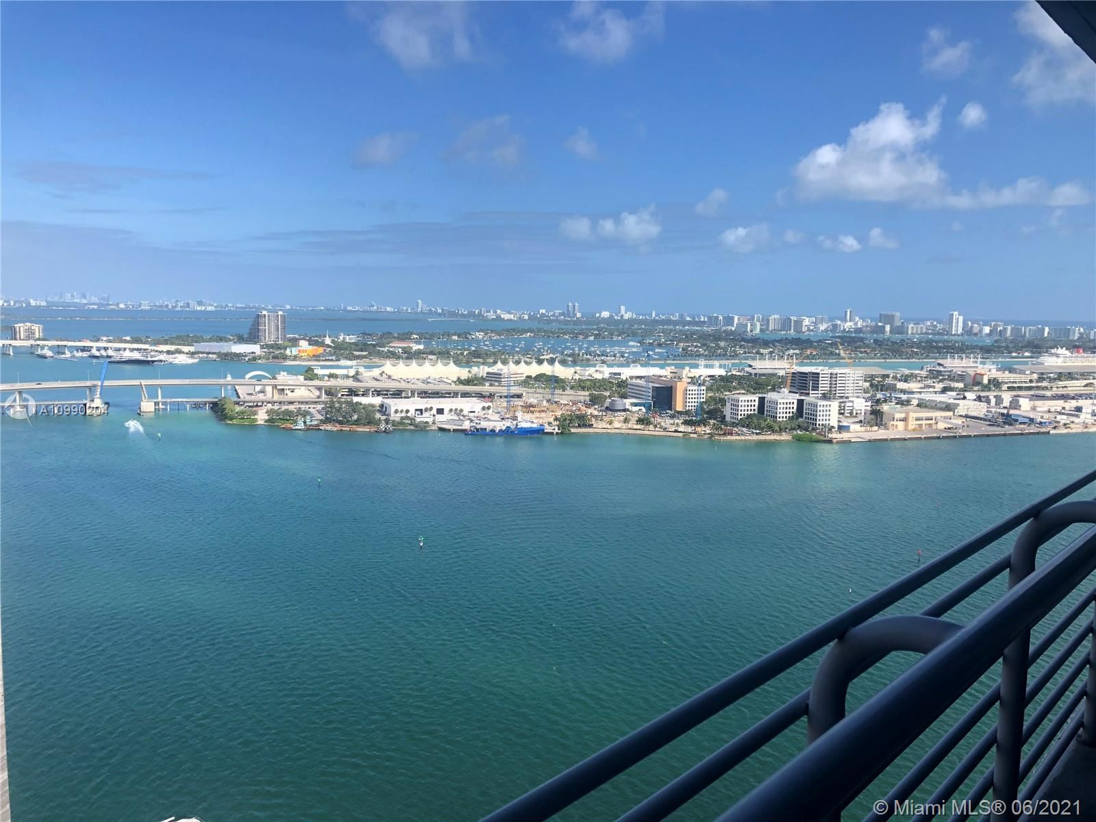 Photo of 335 S Biscayne Blvd #3608, Miami, FL 33131 (MLS # A10990204)