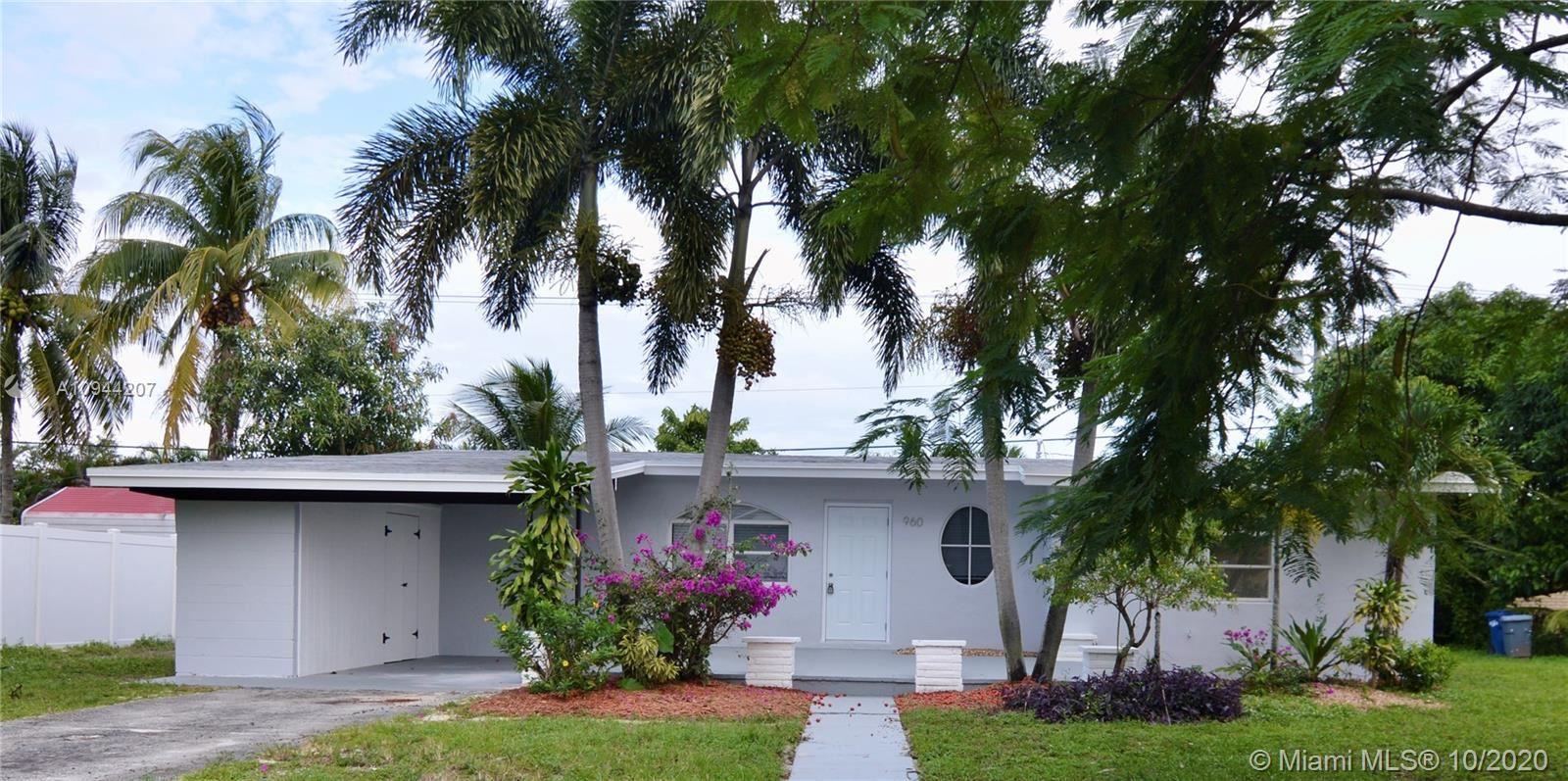 960 SW 42nd Ave, Plantation, FL 33317 - #: A10944207