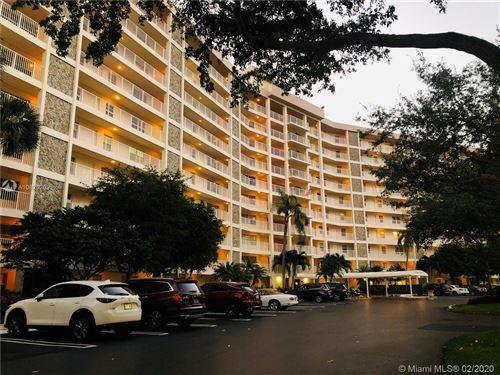 Photo of Listing MLS a10820209 in 3507 Oaks Way #607 Pompano Beach FL 33069