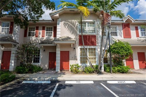 Photo of 765 NW 42nd Ave #765, Plantation, FL 33317 (MLS # A11075212)
