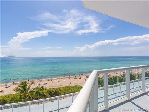 Photo of 6515 Collins Ave #703, Miami Beach, FL 33141 (MLS # A10788213)