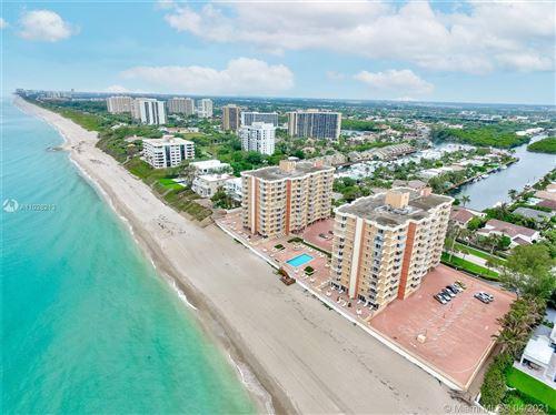 Photo of 4505 S Ocean Blvd #203, Highland Beach, FL 33487 (MLS # A11028213)