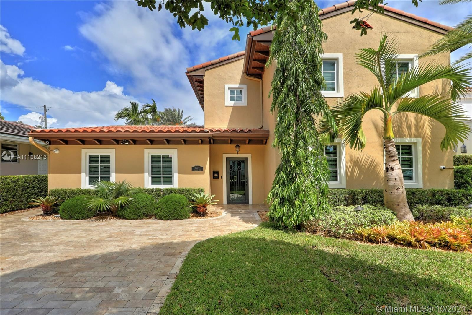 Photo of 1509 Palancia Ave, Coral Gables, FL 33146 (MLS # A11108213)