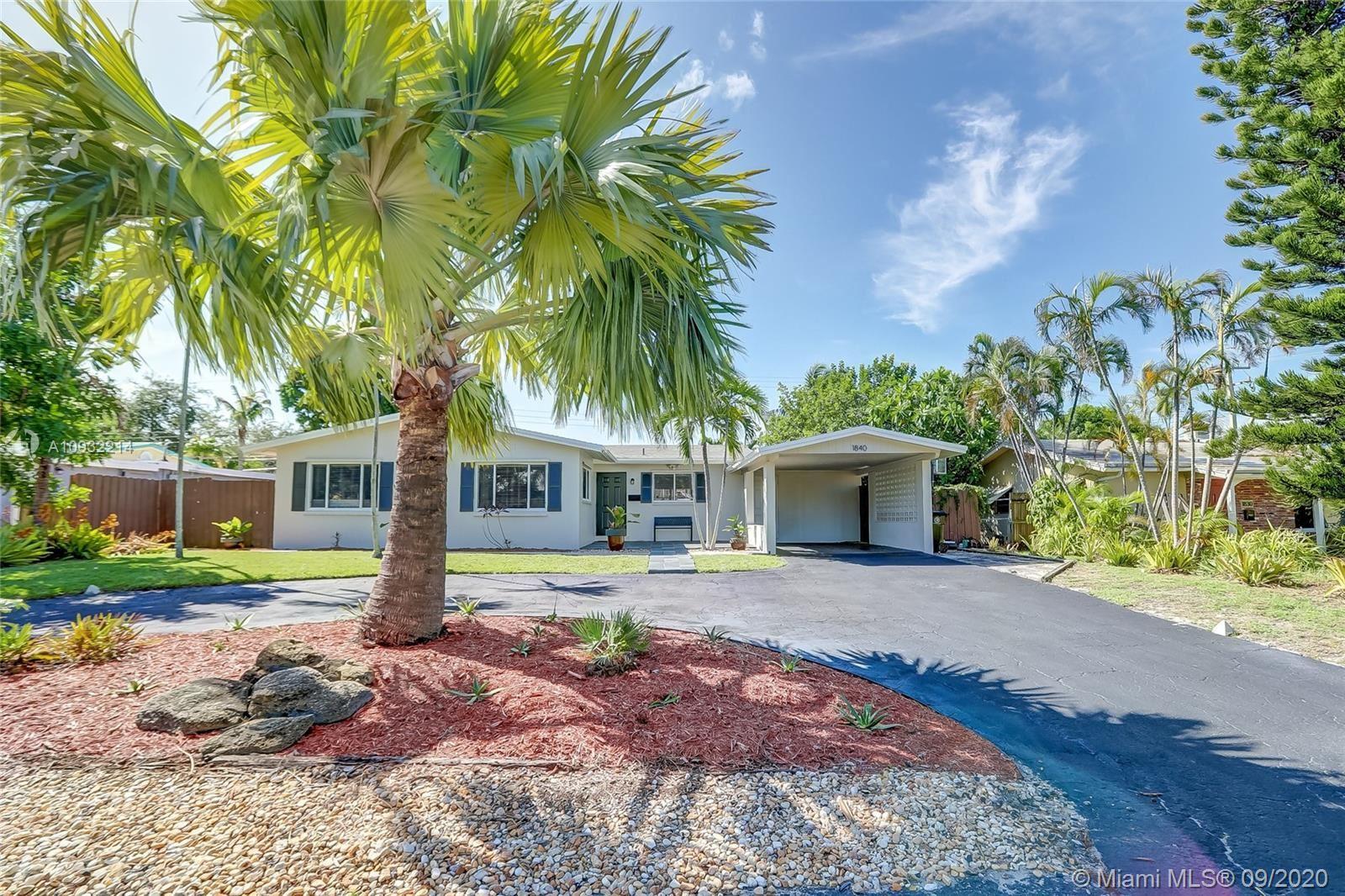 Photo of 1840 NE 47th St, Fort Lauderdale, FL 33308 (MLS # A10932214)