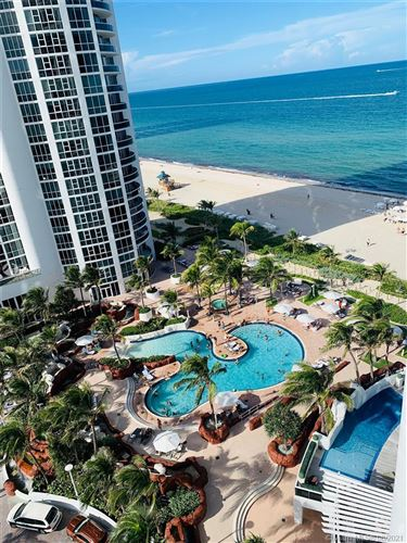 Photo of 18101 COLLINS AVE #1406, Sunny Isles Beach, FL 33160 (MLS # A11078216)