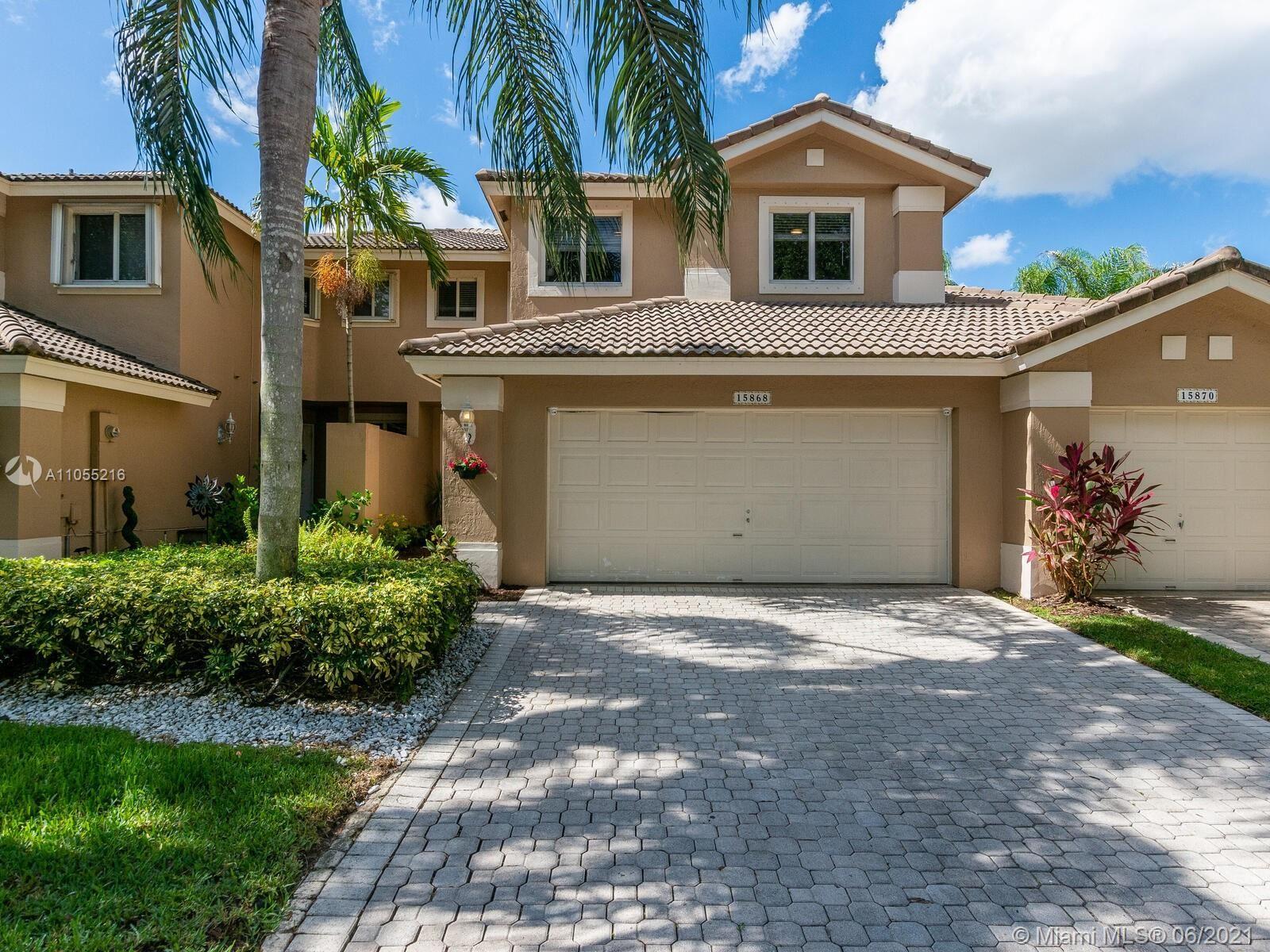 15868 SW 12th St, Pembroke Pines, FL 33027 - #: A11055216