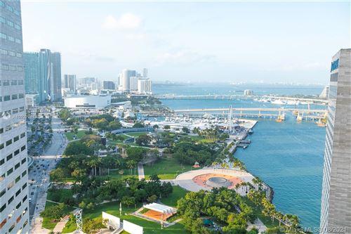 Photo of 325 S Biscayne Blvd #3618, Miami, FL 33131 (MLS # A10927217)