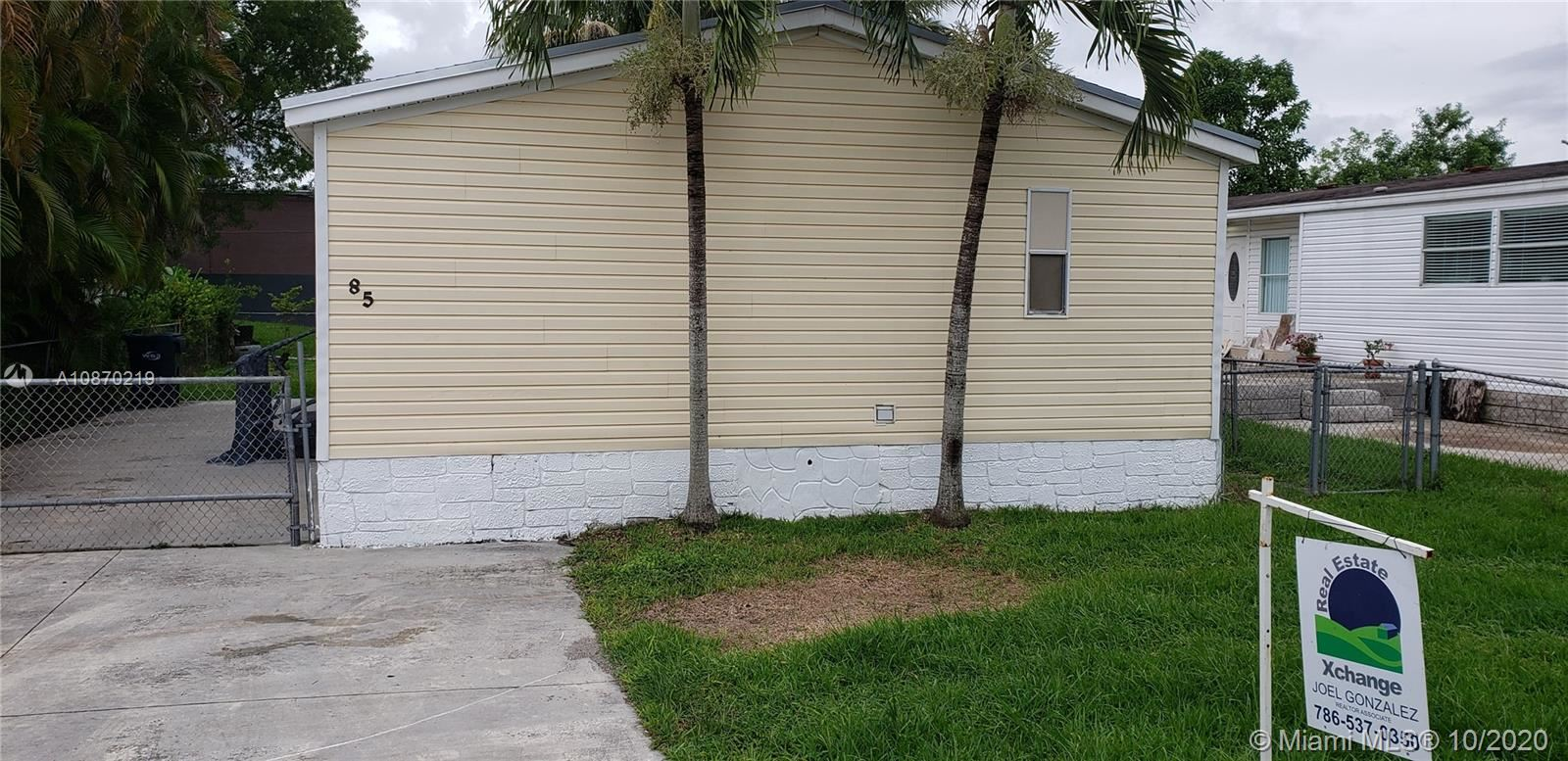 19800 SW 180th Ave lot 85, Miami, FL 33187 - #: A10870219