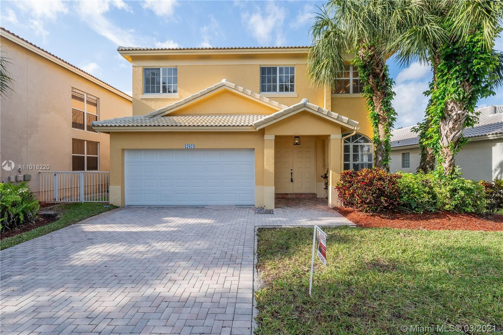 17024 NW 20th St, Pembroke Pines, FL 33028 - #: A11018220