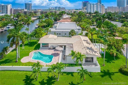 Photo of 536 Hibiscus Drive, Hallandale Beach, FL 33009 (MLS # A10857222)