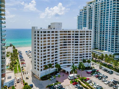 Photo of 3505 S Ocean Dr #1203, Hollywood, FL 33019 (MLS # A10903222)