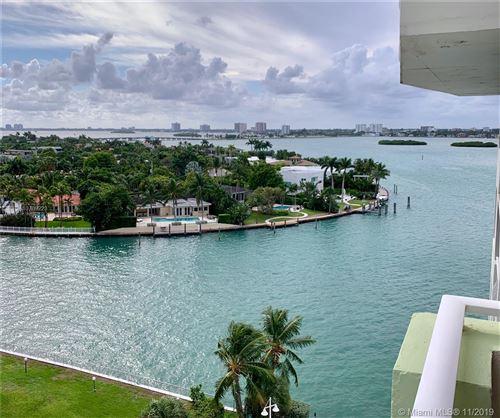 Photo of 10350 W Bay Harbor Dr #9N, Bay Harbor Islands, FL 33154 (MLS # A10769223)