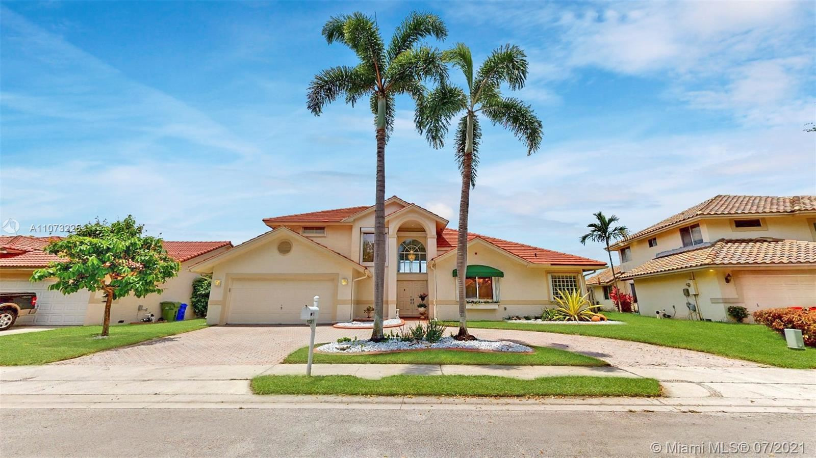 Photo of 10261 SW 15th St, Pembroke Pines, FL 33025 (MLS # A11073225)