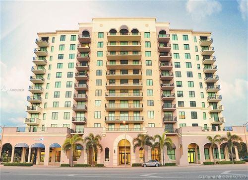 Photo of 1300 Ponce De Leon Blvd #806, Coral Gables, FL 33134 (MLS # A10650231)